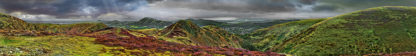 Long Mynd zoomed out - greyer - 7 foot 8 inches long