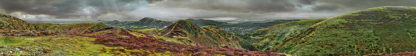 Long Mynd zoomed out - desat - 7 foot 8 inches long