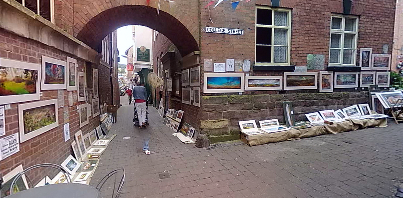 Church Street, Ludlow exhibition