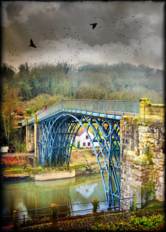 Ironbridge painted blue taller