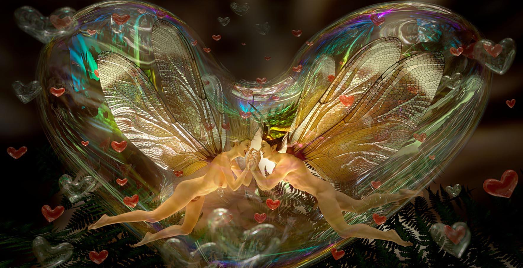 Love bubble fairies