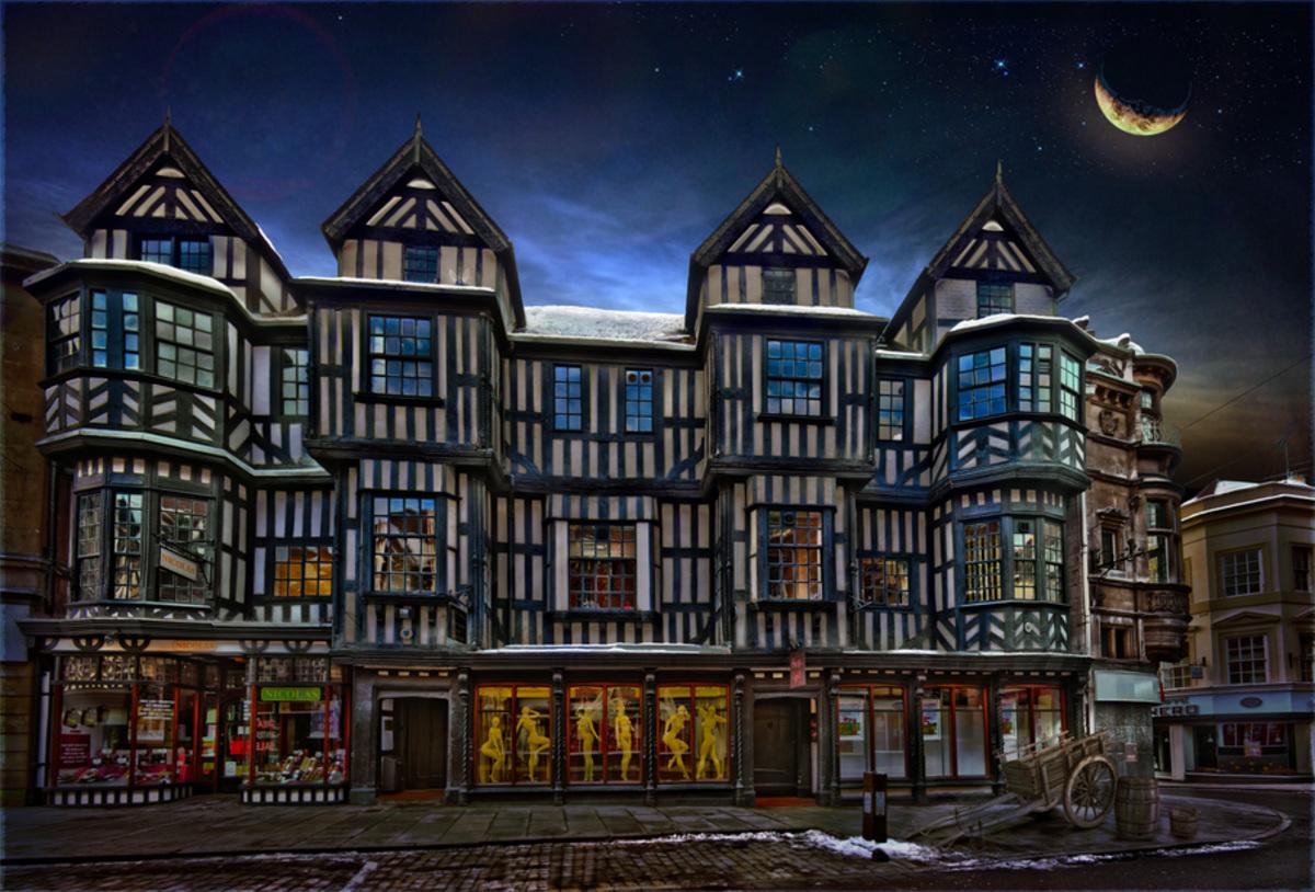 Shrewsbury Irelands Mansion