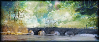 Shrewsbury the English Bridge stars but no fairies