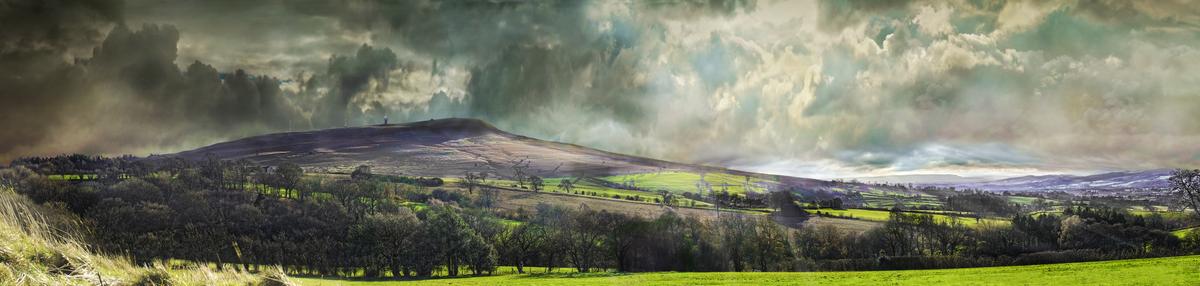 Titterstone Clee Hill Shropshire Sasquatch