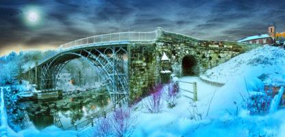 Ironbridge on Christmas Eve