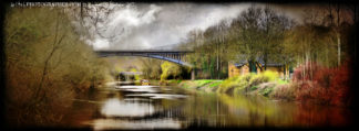 Albert Edward Bridge upstream from the Ironbridge