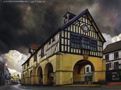Bridgnorth Town Hall and Market front