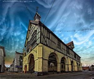 Bridgnorth Town Hall and Market