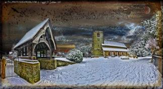 Chirbury Church Death will whisper to you