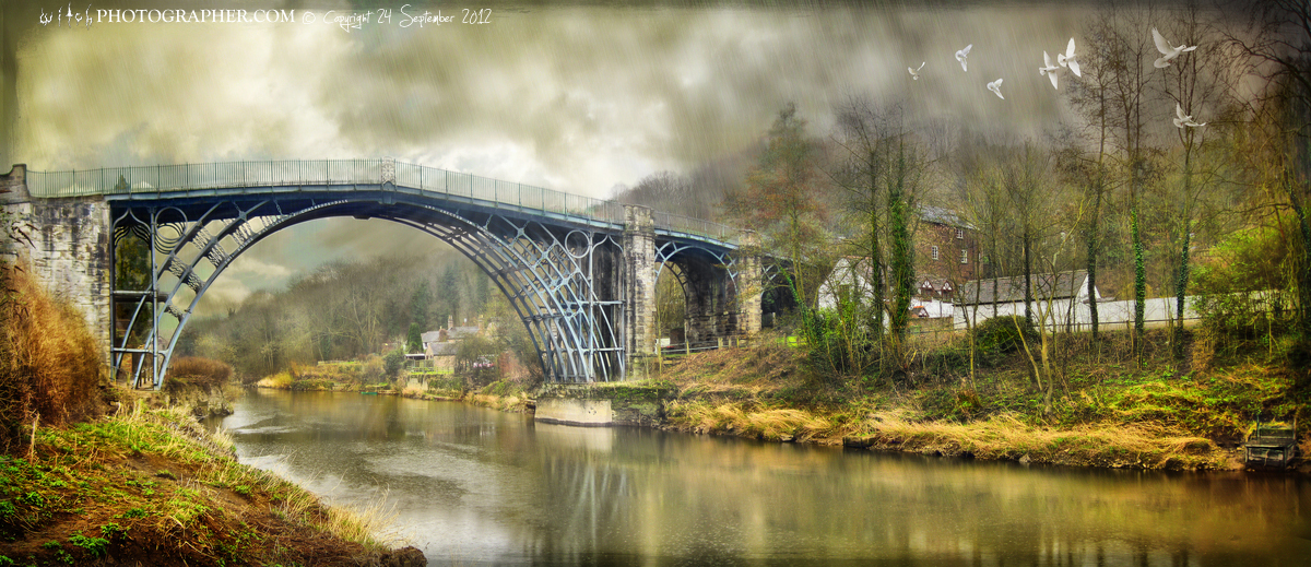 Ironbridge and without the ghostly trow