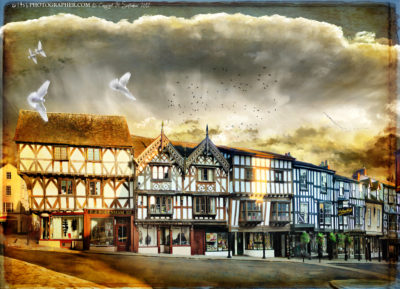 Ludlow Broad Street and DeGrays Valentines ghost