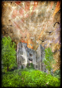 Ludlow Castle Pendover Tower, the white lady & the curse of man