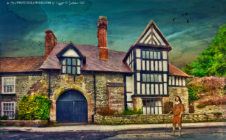 Much Wenlock Ashfield Hall and King Charles I