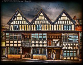 Much Wenlock Raynalds House Victorian children