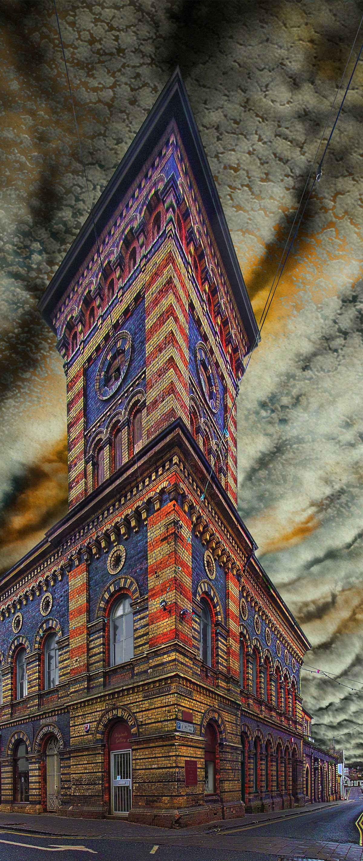 Bridgnorth New Market Hall on Postern Gate - tall