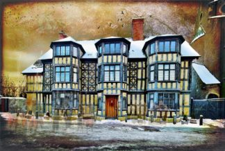 Shrewsbury The House at the Castle Gates the hanged Irish mercenaries and other ghosts