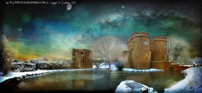 Whittington Castle at dawn