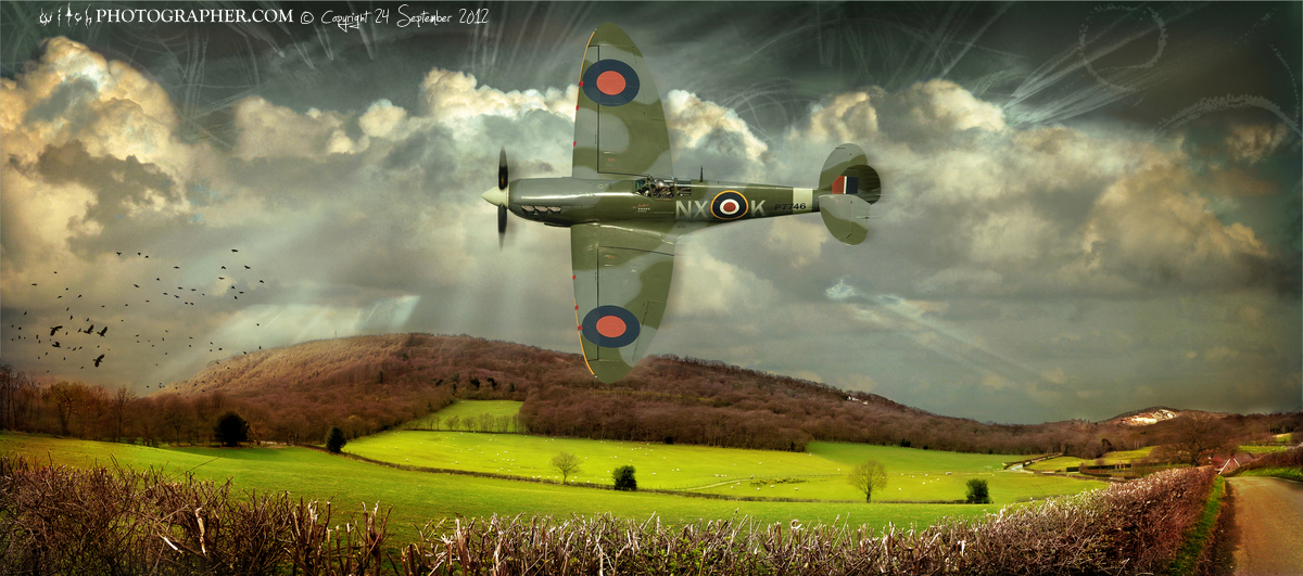 Wrekin and the ghost spitfire