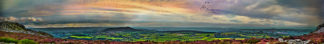 Corndon Hill from the Stiperstones - 7 foot 8 inches long