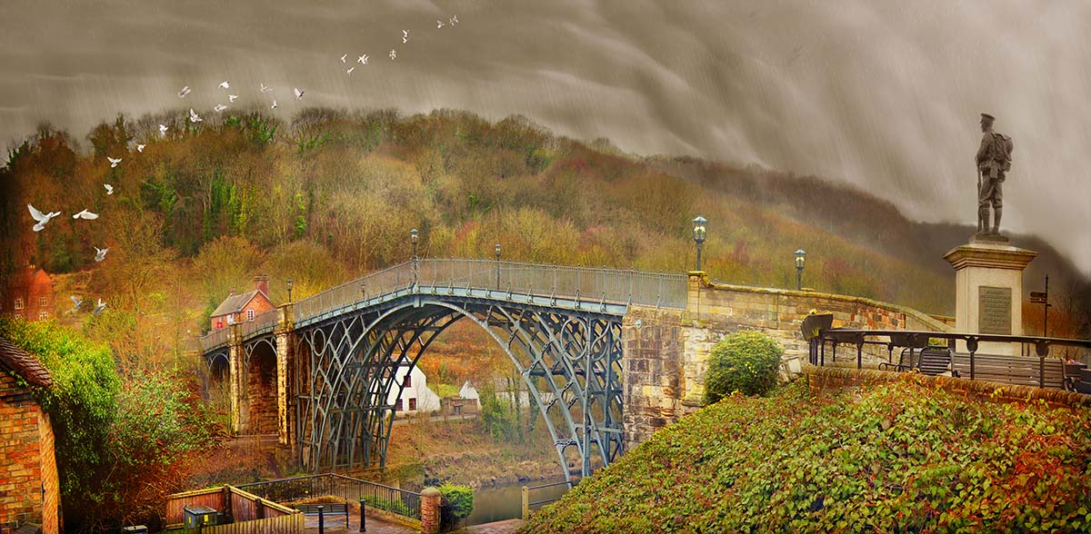 Ironbridge and wrong soldier and the phantom lights
