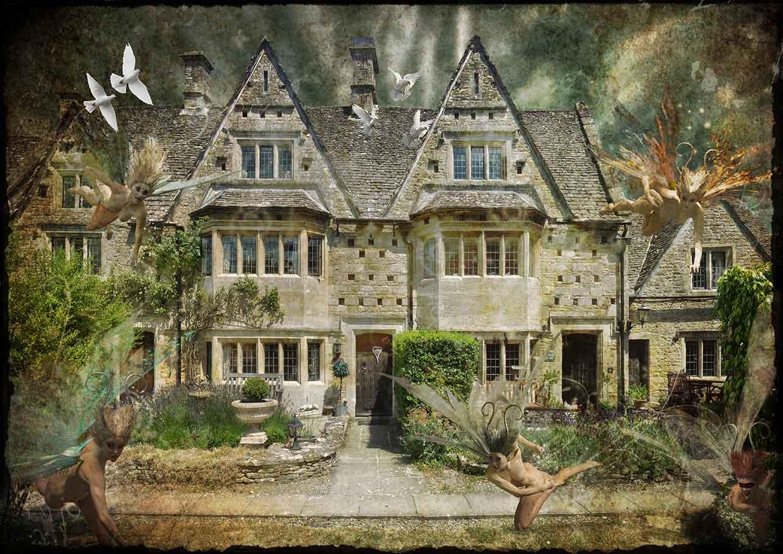 Cotswolds Middle Gable - close fairies dark