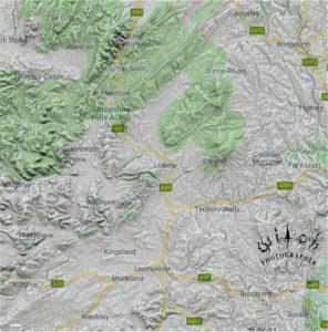 Ludlow 2d map