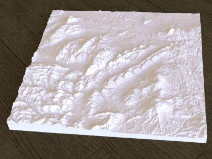 Church Stretton 3d map