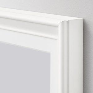 A white classic Ikea frame